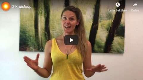 Activeer Zelfheling: oefening 2 De Kruisloop